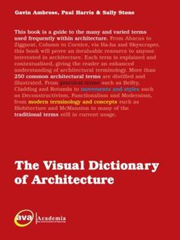 The Visual Dictionary of Architecture 294037354X Book Cover
