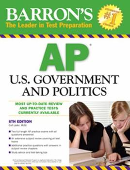 Paperback U. S. Government and Politics Book