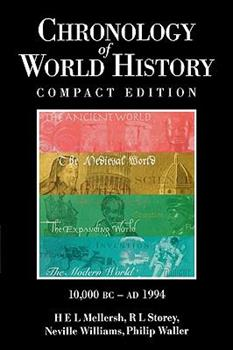 Chronology of World History, 10,00 B.C. - A.D. 1994 0874368669 Book Cover