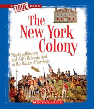 Library Binding The New York Colony (True Books) Book
