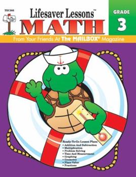 Math (23 Ready-To-Go Lessons Plans) Grade 3 1562341804 Book Cover