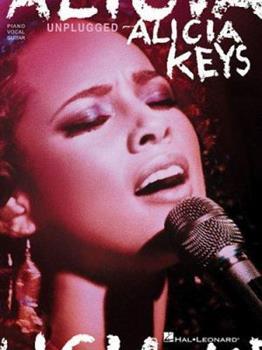Alicia Keys - Unplugged (Piano - Vocal - Guitar Series) 1423408225 Book Cover
