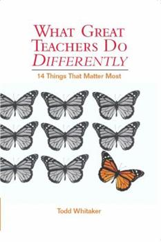 Paperback What Great Teachers Do Differently: 14 Things That Matter Most Book