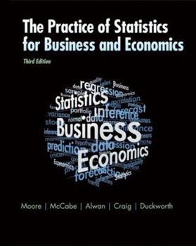 The Practice of Business Statistics w/CD 0716797739 Book Cover