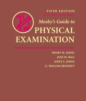 Hardcover Mosby's Guide to Physical Examination Book