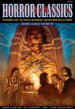Graphic Classics, Volume 10: Horror Classics 0974664812 Book Cover