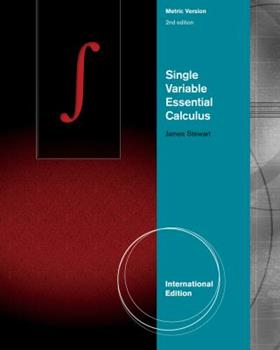 Paperback Single Variable Essential Calculus Book