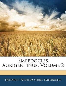 Paperback Empedocles Agrigentinus, Volume 2 Book