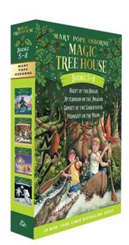 Paperback Magic Tree House Books 5-8 Boxed Set Book