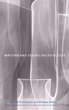 Writing and Seeing Architecture 081664568X Book Cover