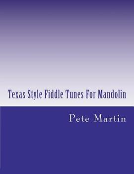 Paperback Texas Style Fiddle Tunes For Mandolin Book