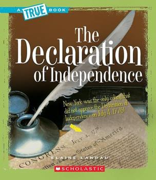 Paperback The Declaration of Independence (a True Book: American History) Book
