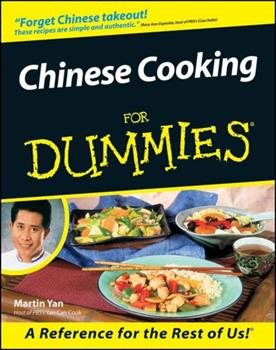 Paperback Chinese Cooking for Dummies Book