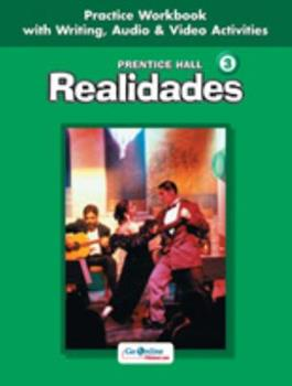 Realidades: Level 3 Practice Workbook 0131164651 Book Cover