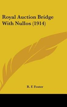 Hardcover Royal Auction Bridge with Nullos Book