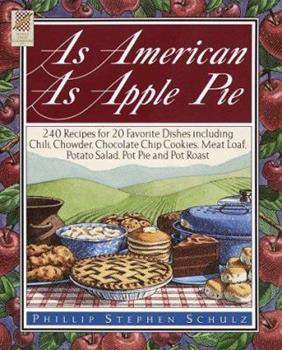 As American As Apple Pie (Wings Great Cookbooks) 0517150344 Book Cover