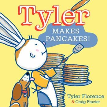 Hardcover Tyler Makes Pancakes! Book