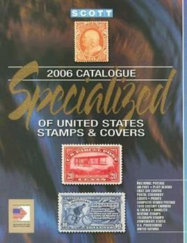 Scott Specialized Catalogue of United States Stamps & Covers 0894873571 Book Cover