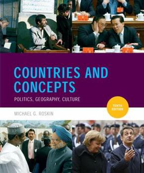 Paperback Countries and Concepts : Politics, Geography, Culture Book