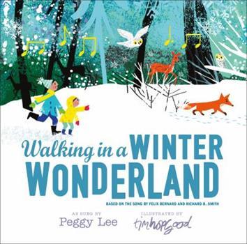 Hardcover Walking in a Winter Wonderland Book