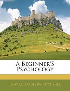 Paperback A Beginner's Psychology Book