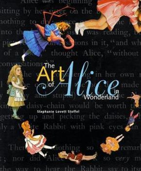 Hardcover The Art of Alice in Wonderland Book