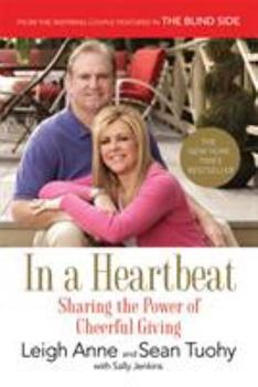Paperback In a Heartbeat: Sharing the Power of Cheerful Giving Book