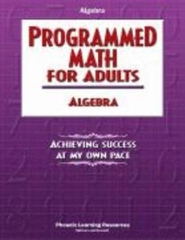 Paperback Programmed Math Book 12: Understanding Algebra Book