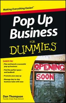 Paperback Pop Up Business for Dummies Book