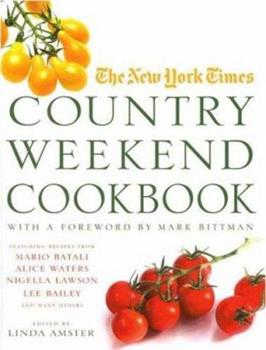 The New York Times Country Weekend Cookbook 031235939X Book Cover