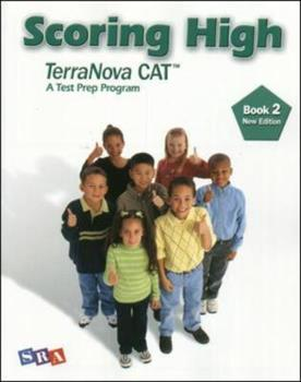 Paperback Scoring High on the California Achievement Tests (CAT), Student Edition, Grade 2 (SCORING HIGH, CAT) Book