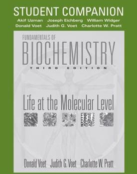 Paperback Fundamentals of Biochemistry : Life at the Molecular Level Book