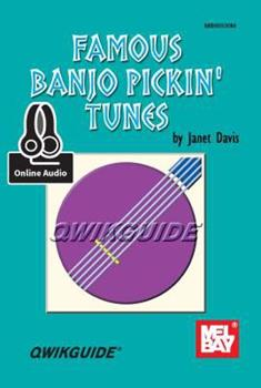 Famous Banjo Pickin' Tunes 0786686561 Book Cover