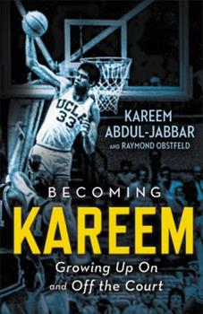 Paperback Becoming Kareem: Growing Up on and Off the Court Book