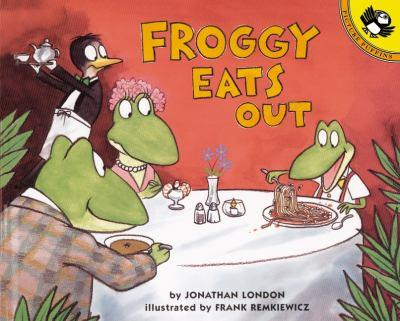 Froggy Eats Out - Book  of the Froggy