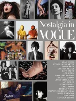 Hardcover Nostalgia in Vogue Book