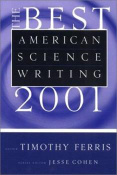 The Best American Science Writing 2001 0060936487 Book Cover