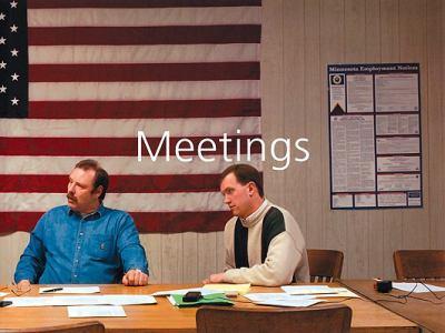 Meetings 0954281381 Book Cover