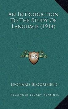 Hardcover An Introduction to the Study of Language Book
