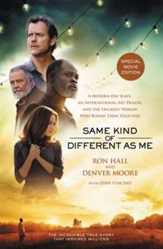 Paperback Same Kind of Different As Me Movie Edition Softcover Book