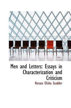 Paperback Men and Letters : Essays in Characterization and Criticism Book