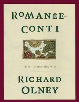 Romanee Conti 0847819272 Book Cover