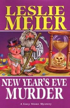 Hardcover New Year's Eve Murder Book