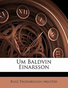 Paperback Um Baldvin Einarsson Book