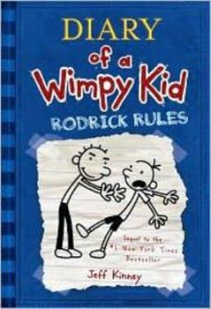 Paperback diary of a wimpy kid. rodrick rules Book