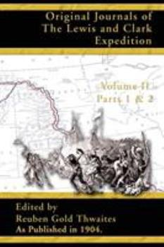 Paperback Original Journals of the Lewis and Clark Expedition: 1804-1806; Part 1 & 2 Volume 2 Book