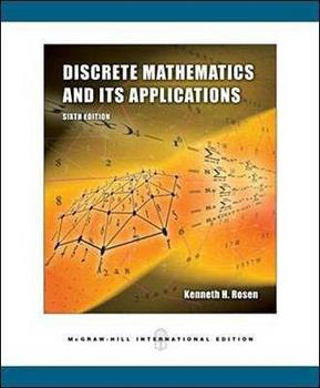 Paperback Discrete Mathematics and Its Applications International Version Book