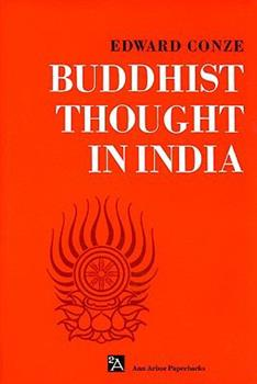 Buddhist Thought in India: Three Phases of Buddhist Philosophy (Ann Arbor Paperbacks) 0472061291 Book Cover