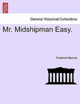Paperback Mr. Midshipman Easy. Book