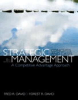 Strategic Management: Concepts and Cases 0132664232 Book Cover
